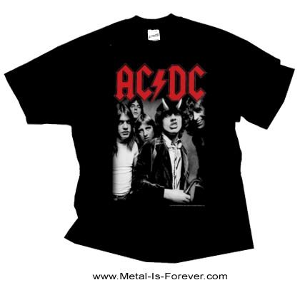 AC/DC (エーシー・ディーシー) HIGHWAY TO HELL 「地獄のハイウェイ」  Tシャツ