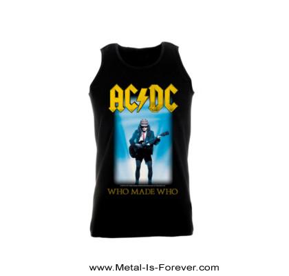 AC/DC (エーシー・ディーシー) WHO MADE WHO 「フー・メイド・フー」 タンクトップ