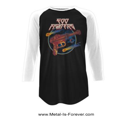 FOO FIGHTERS (フー・ファイターズ) RAY GUN 「レイ・ガン」 ラグラン長袖Tシャツ
