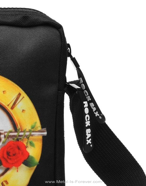 GUNS N' ROSES -ガンズ・アンド・ローゼズ- ROSES LOGO 「ローゼズ・ロゴ」 クロス・ボディバッグ