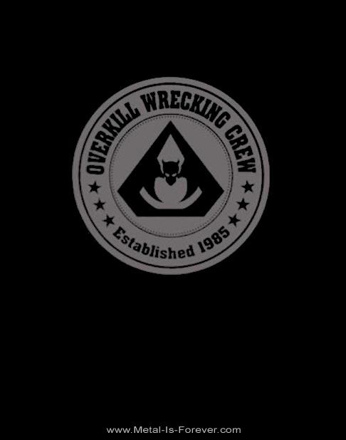 OVERKILL (オーヴァーキル) WRECKING CREW THE WINGS OF WAR 2020 「レッキング・クルー・ザ・ウィングス・オブ・ウォー・2020」 Tシャツ