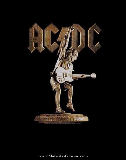 AC/DC (エーシー・ディーシー) STIFF UPPER LIP 「スティッフ・アッパー・リップ」 Tシャツ