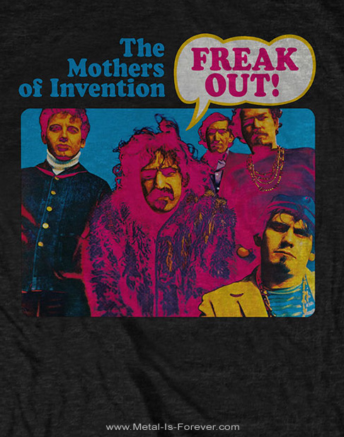 FRANK ZAPPA (フランク・ザッパ) FREAK OUT! 「フリーク・アウト!」 Tシャツ