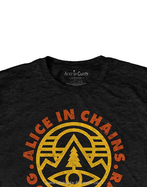 ALICE IN CHAINS (アリス・イン・チェインズ) PINE EMBLEM 「パイン・エンブレム」 Tシャツ