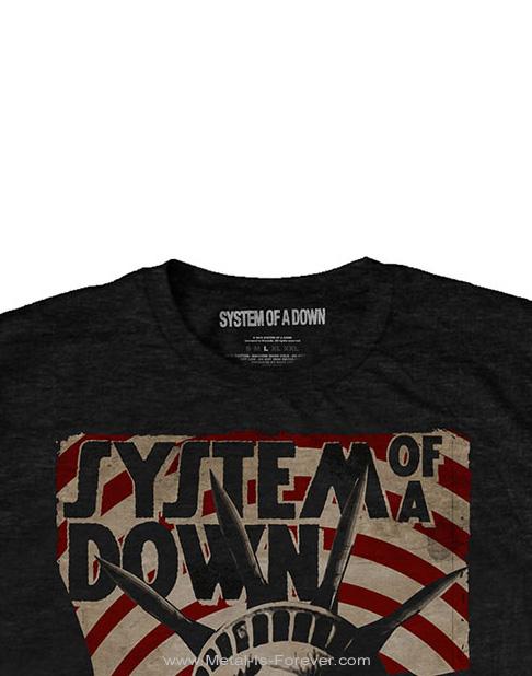 SYSTEM OF A DOWN (システム・オブ・ア・ダウン) LIBERTY BANDIT 「リバティ・バンディット」 Tシャツ
