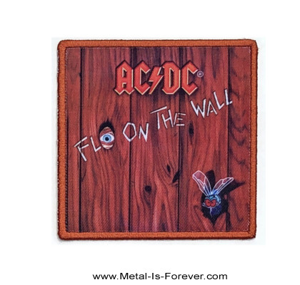 AC/DC (エーシー・ディーシー) FLY ON THE WALL 「フライ・オン・ザ・ウォール」 アイロン・ワッペン