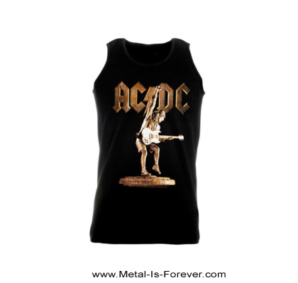 AC/DC (エーシー・ディーシー) STIFF UPPER LIP 「スティッフ・アッパー・リップ」 タンクトップ