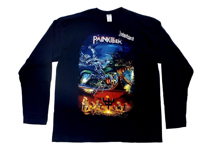 【在庫有り商品】JUDAS PRIEST -ジューダス・プリースト- PAINKILLER 「ペインキラー」 長袖Tシャツ XXLサイズ