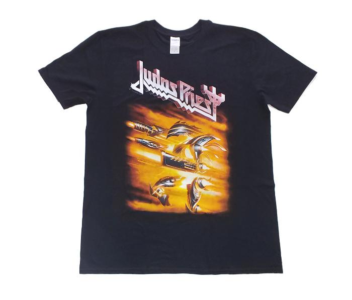 【在庫有り商品】JUDAS PRIEST -ジューダス・プリースト- FIREPOWER 「ファイアーパワー」 Tシャツ Lサイズ