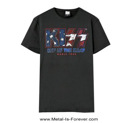 【世界限定500着 Diamante特別仕様】KISS -キッス- END OF THE ROAD 「エンド・オブ・ザ・ロード」 Tシャツ