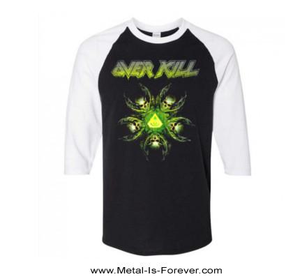 OVERKILL (オーヴァーキル) THE WINGS OF WAR 「ザ・ウィングス・オブ・ウォー」 ラグラン七分袖Tシャツ