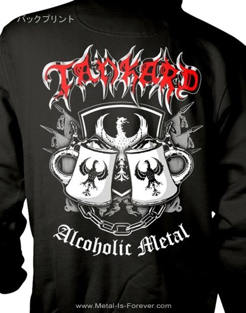 TANKARD (タンカード) ALCOHOLIC METAL 「アルコール・メタル」 パーカー