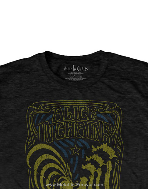 ALICE IN CHAINS (アリス・イン・チェインズ) PSYCHEDELIC ROOSTER 「サイケデリック・ルースター」 Tシャツ