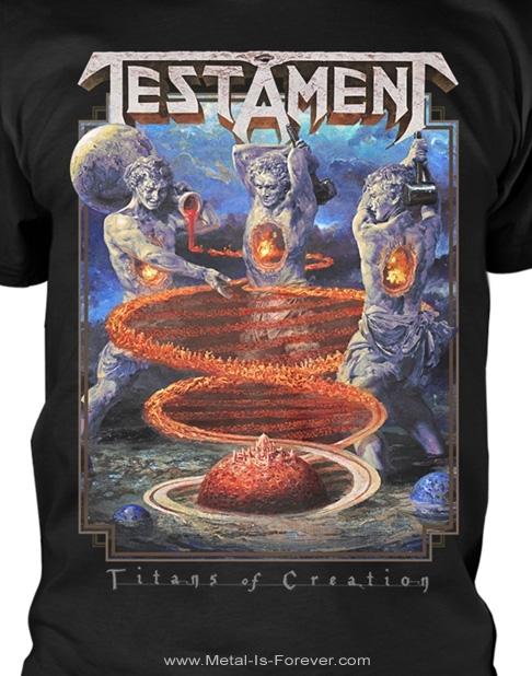 TESTAMENT (テスタメント) TITANS OF CREATION 「タイタンズ・オブ・クリエイション」 Tシャツ