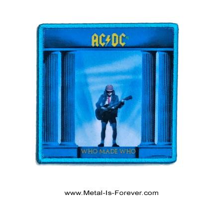 AC/DC (エーシー・ディーシー) WHO MADE WHO 「フー・メイド・フー」 アイロン・ワッペン