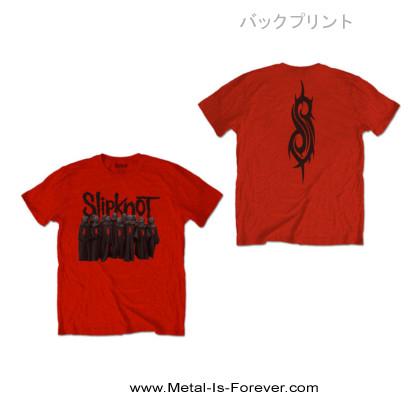 SLIPKNOT (スリップノット) CHOIR 「クワイア」 キッズTシャツ(赤)