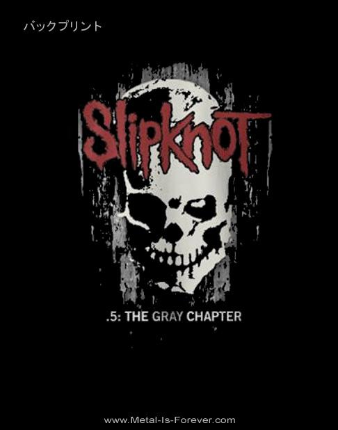 SLIPKNOT -スリップノット- SKULL BACK 「スカル・バック」 ジップ・パーカー