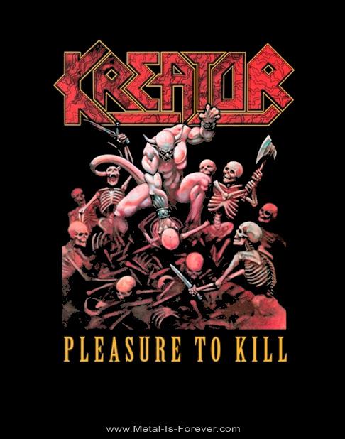 KREATOR -クリーター- PLEASURE TO KILL 「プレジャー・トゥ・キル」 Tシャツ