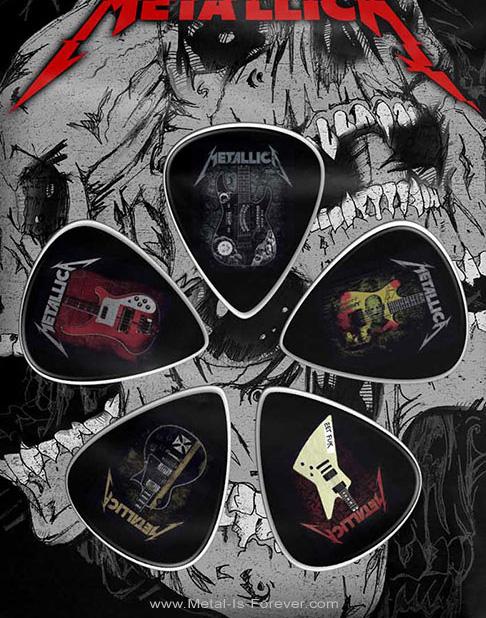 METALLICA -メタリカ- GUITARS 「ギター」 ピックセット