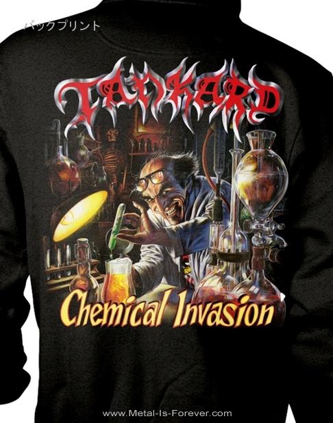 TANKARD (タンカード) CHEMICAL INVASION 「ケミカル・インヴェイジョン」 ジップ・パーカー