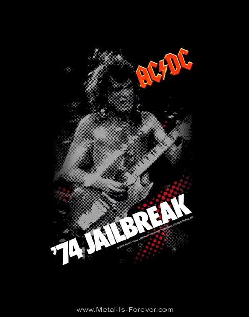 AC/DC (エーシー・ディーシー) '74 JAILBREAK 「74 ジェイルブレイク」 Tシャツ