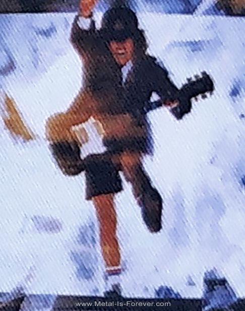 AC/DC (エーシー・ディーシー) BLOW UP YOUR VIDEO 「ブロウ・アップ・ユア・ビデオ」 アイロン・ワッペン