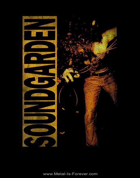SOUNDGARDEN (サウンドガーデン) LOUDER THAN LOVE 「ラウダー・ザン・ラヴ」 Tシャツ