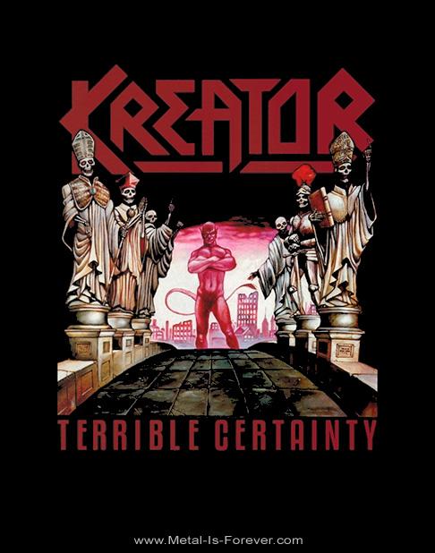 KREATOR -クリーター- TERRIBLE CERTAINTY 「テリブル・サートゥンティ」 Tシャツ