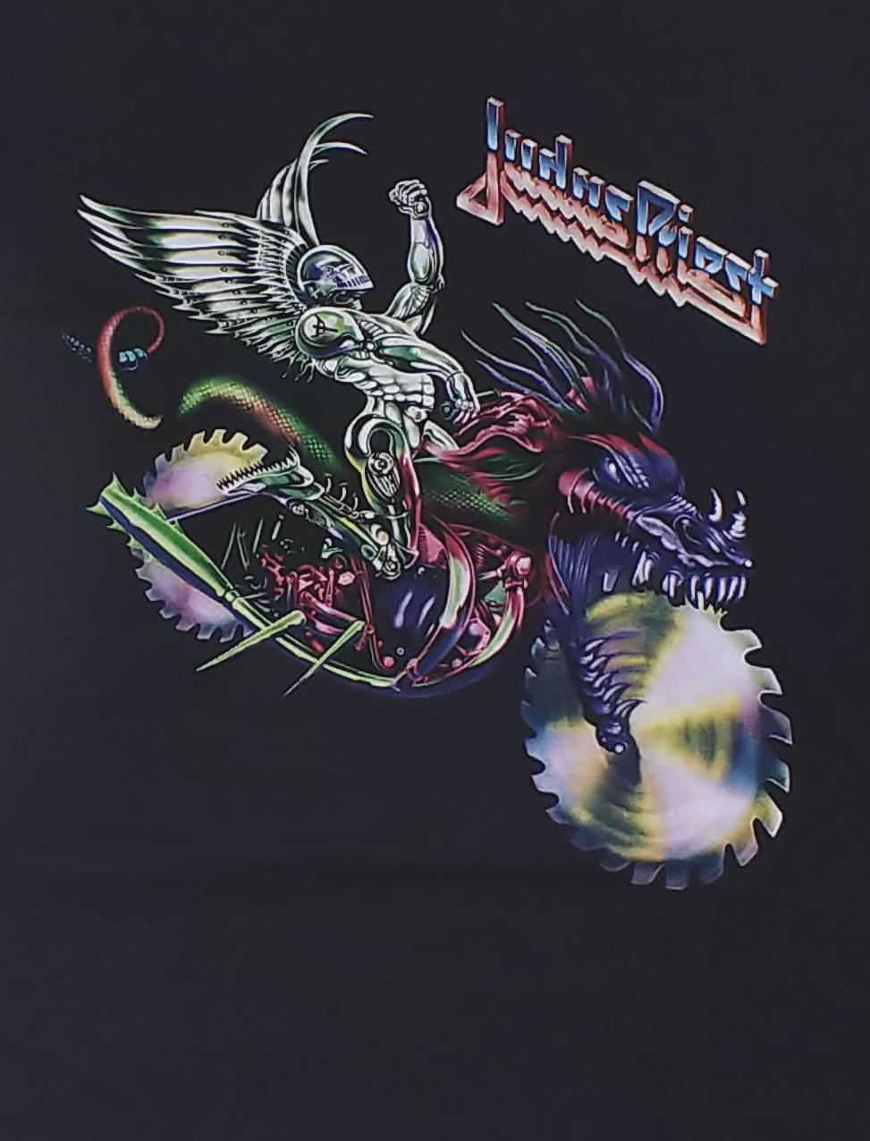 【在庫有り商品】JUDAS PRIEST -ジューダス・プリースト- PAINKILLER 「ペインキラー」 メタル・モンスター Tシャツ Sサイズ