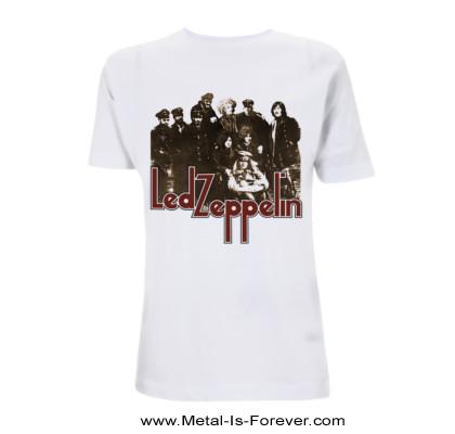 LED ZEPPELIN -レッド・ツェッペリン- LED ZEPPELIN II 「レッド・ツェッペリン II」 フォト Tシャツ(白)