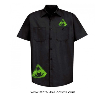 OVERKILL (オーヴァーキル) THE WINGS OF WAR 「ザ・ウィングス・オブ・ウォー」 ワークシャツ