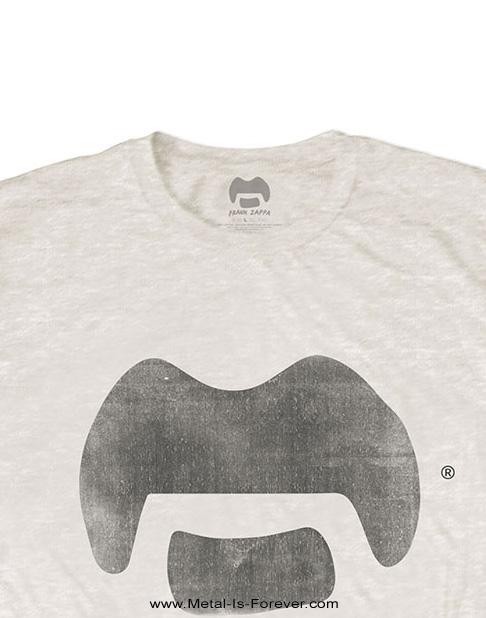 FRANK ZAPPA (フランク・ザッパ) TACHE 「ヒゲ」 Tシャツ(ナチュラルカラー)