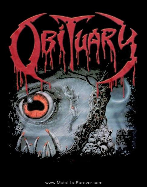 OBITUARY (オビチュアリー) CAUSE OF DEATH 「コーズ・オブ・デス」 Tシャツ