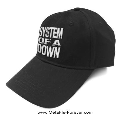 SYSTEM OF A DOWN (システム・オブ・ア・ダウン) STACKED LOGO 「スタック・ロゴ」 ベースボールキャップ