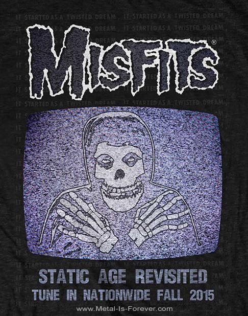 MISFITS (ミスフィッツ) STATIC AGE REVISITED 「スタティック・エイジ・リヴィジテッド」 Tシャツ
