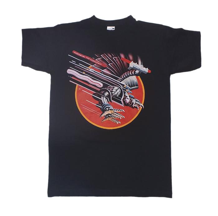 【在庫有り商品】JUDAS PRIEST -ジューダス・プリースト- SCREAMING FOR VENGEANCE 「復讐の叫び」 Tシャツ Sサイズ