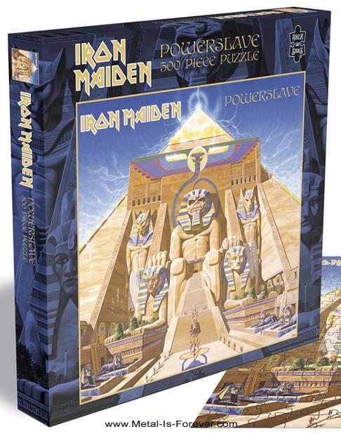 IRON MAIDEN -アイアン・メイデン- POWERSLAVE 「パワースレイヴ」 500ピース ジグソーパズル