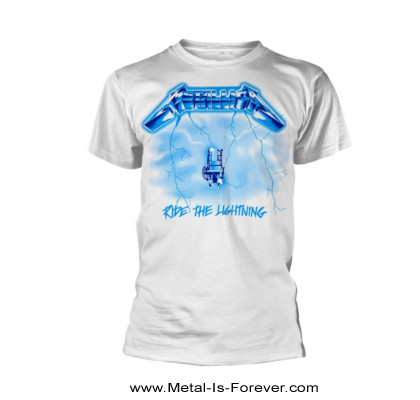METALLICA -メタリカ- RIDE THE LIGHTNING 「ライド・ザ・ライトニング」 Tシャツ(白)
