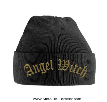 ANGEL WITCH -エンジェル・ウィッチ- GOLD LOGO 「ゴールド・ロゴ」 ニットキャップ