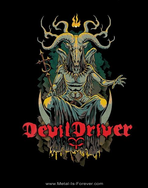 DEVILDRIVER -デヴィルドライヴァー- GOAT 「ゴート」 Tシャツ