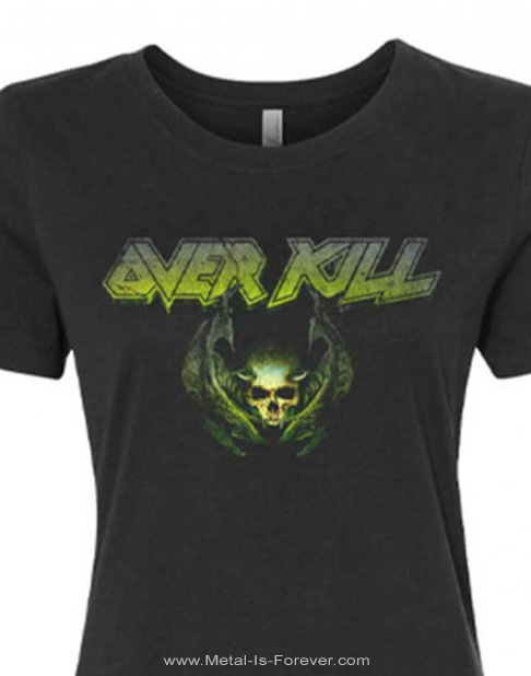 OVERKILL (オーヴァーキル) THE WINGS OF WAR 「ザ・ウィングス・オブ・ウォー」 2020年北米ツアー レディースTシャツ