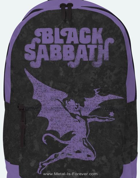 BLACK SABBATH (ブラック・サバス) DEMON PURPLE 「デーモン・パープル」 リュックサック