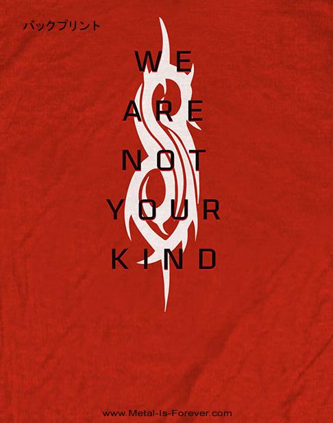 SLIPKNOT (スリップノット) WE ARE NOT YOUR KIND 「ウィー・アー・ノット・ユア・カインド」 Tシャツ(赤)