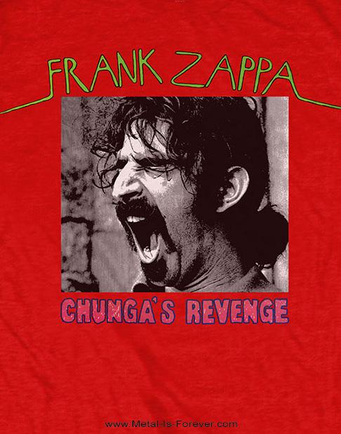 FRANK ZAPPA (フランク・ザッパ) CHUNGA'S REVENGE 「チャンガの復讐」 Tシャツ(赤)