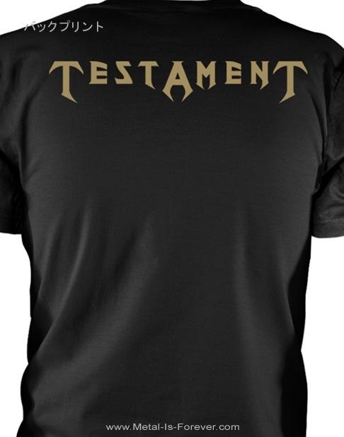 TESTAMENT (テスタメント) DARK ROOTS OF EARTH 「ダーク・ルーツ・オブ・アース」 Tシャツ
