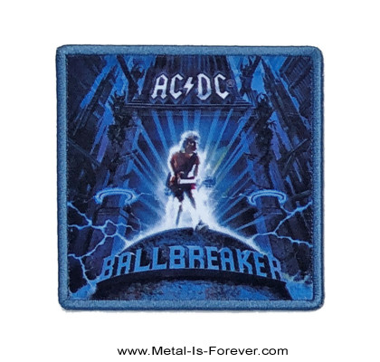AC/DC (エーシー・ディーシー) BALLBREAKER 「ボールブレイカー」 アイロン・ワッペン