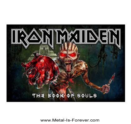 IRON MAIDEN (アイアン・メイデン) THE BOOK OF SOULS 「魂の書~ザ・ブック・オブ・ソウルズ~」 布製ポスター