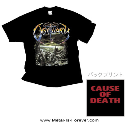 OBITUARY (オビチュアリー) THE END COMPLETE 「ジ・エンド・コンプリート」 Tシャツ