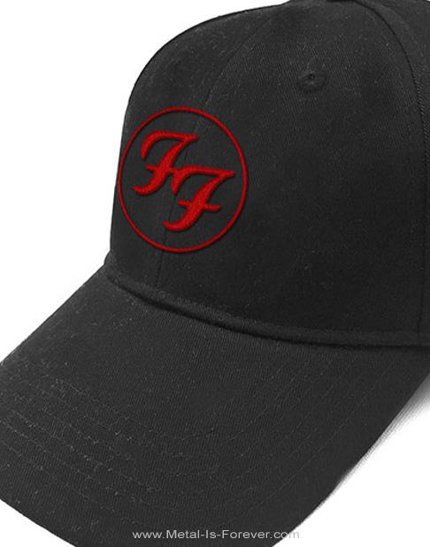 FOO FIGHTERS (フー・ファイターズ) RED CIRCLE LOGO 「レッド・サークル・ロゴ」 ベースボールキャップ