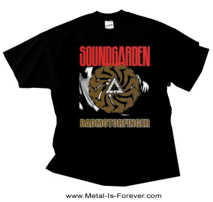 SOUNDGARDEN (サウンドガーデン) BADMOTORFINGER 「バッドモーターフィンガー」 Tシャツ Ver.2
